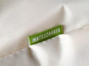 SOU・SOU大丸・松坂屋オリジナルエコバッグ「MATSUZAKAYA」のタグ